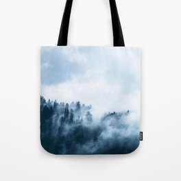 The Wilderness, Foggy Forest Tote Bag