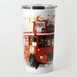 London Bus Travel Mug