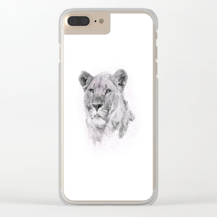 Leo Just Wants To Have Fun Clear iPhone Case
