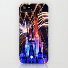 Walt Disney World Christmas Eve Fireworks iPhone (5, 5s) Slim Case