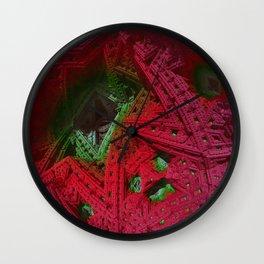just a mandelbulb impression Wall Clock