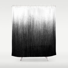 Charcoal Ombré Shower Curtain