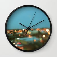 nashville Wall Clocks featuring Nashville #1 by Alicia Bock