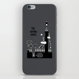 The Natural Order iPhone Skin