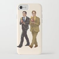 the office iPhone & iPod Cases featuring The Office by Dave Collinson