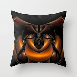 Think Happy Thoughts Throw Pillow