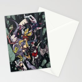 Banda Pesadilla Stationery Cards