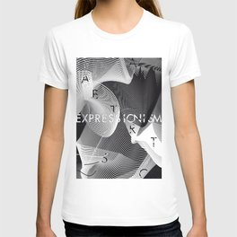 History of Art in Black and White. Expressionism T-shirt