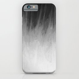Ice Rays in a Black Sky iPhone Case