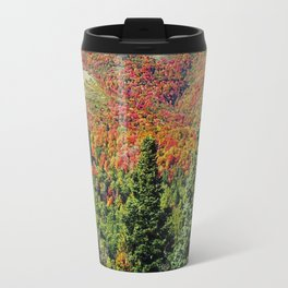 Mountain On Fire Travel Mug
