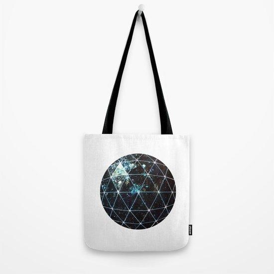 Galaxy Geodesic  Tote Bag