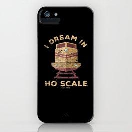 Train Railway Locomotive Dreaming iPhone Case