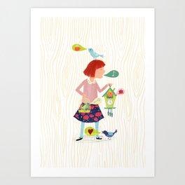 Song of the Cuckoos Art Print