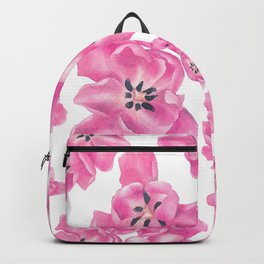 Spring pink poppies Backpack