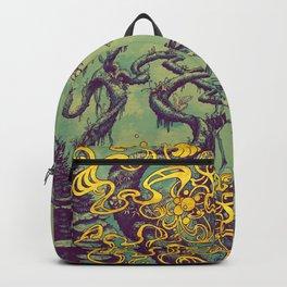 Epiphycadia III: Teal Backpack