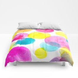 Confetti paint Comforters