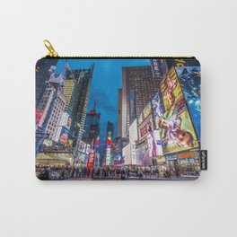Time Square NYC Carry-All Pouch