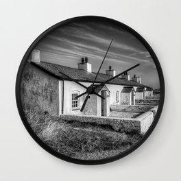 Pilot Cottages  Wall Clock