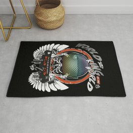 Winged King of the World Rug
