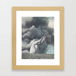 Confused Framed Art Print