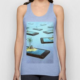 Society connected Unisex Tank Top
