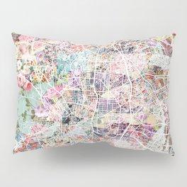 Madrid map Pillow Sham