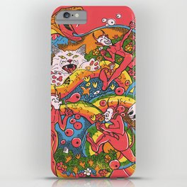 Holiday Imp iPhone Case