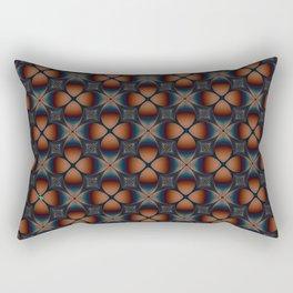 Metallic Deco Copper Rectangular Pillow