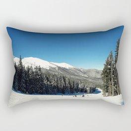 ski slope Rectangular Pillow