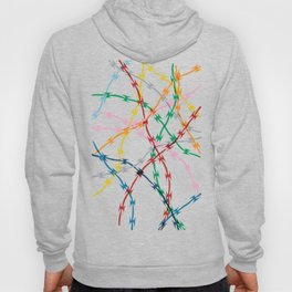 Trapped on Black Hoody