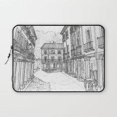 Calle Mayor of Alcalá Laptop Sleeve