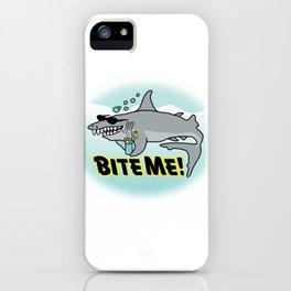 Bite Me! iPhone Case