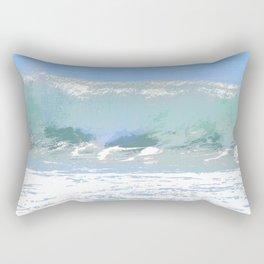 Pastel Wave Rectangular Pillow