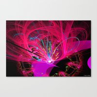 firefly Canvas Prints featuring Firefly by Roger Wedegis
