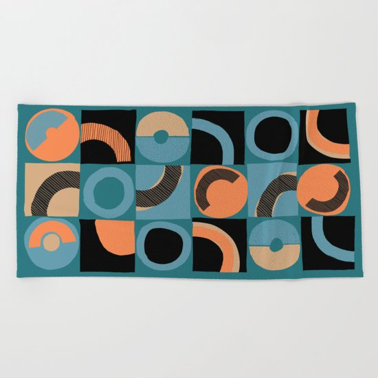 pattern 044 Beach Towel