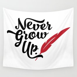Peter Pan - Never Grow Up Wall Tapestry