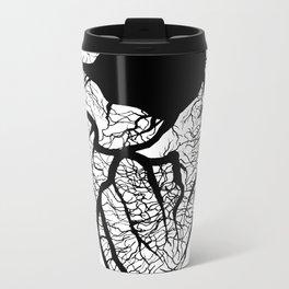 hidden is the heart, it is but a vessel Metal Travel Mug