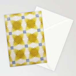 Pineapple Log Cabin Stationery Cards