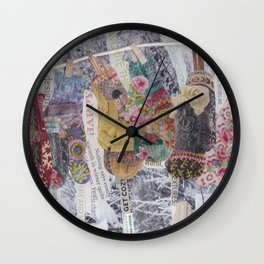 Winter comfort Wall Clock
