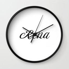 Name Rena Wall Clock