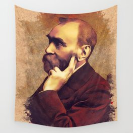Alfred Nobel, Inventor Wall Tapestry