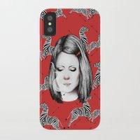 tenenbaum iPhone & iPod Cases featuring Margot Tenenbaum by Ester Dus