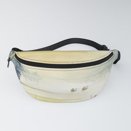 When The Fog Clears Fanny Pack
