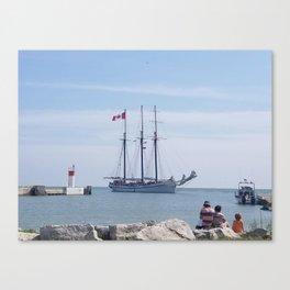 Empire Sandy Canvas Print