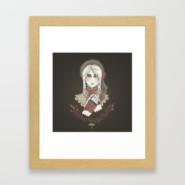 Welcome home good hunter Framed Art Print