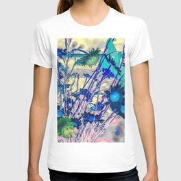 Flower blues T-shirt