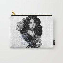 Lilac and gooseberry Carry-All Pouch
