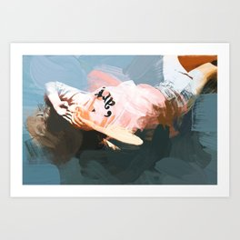 Floored Art Print
