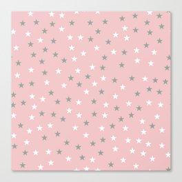 Stars Pattern 3 Canvas Print