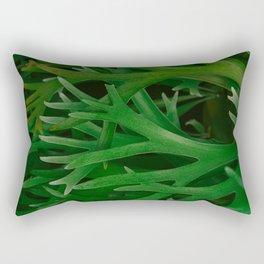 Staghorn Ferns Pattern Rectangular Pillow